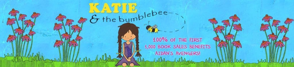 Katie and the bumblebee Banner